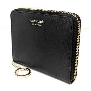 Kate Spade New York Continental Wallet, NWT, Black